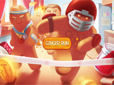 Ginger run- Best iphone entertainment app