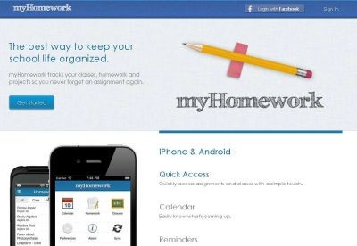 iPhone for School – Manage your school from myhomework.com