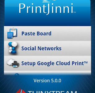 Latest Android app – PrintJinni prints from your phone