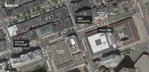 Top 3 Mysterious Google Maps Sightings – Boston Marathon