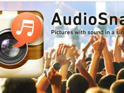 AudioSnaps Takes Pictures with Sound in JPEG