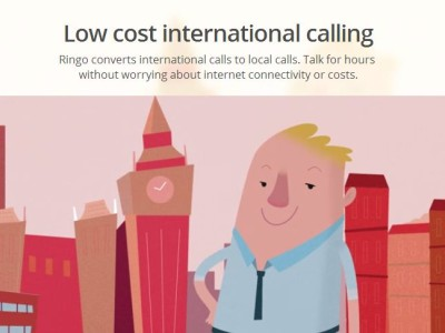 Ringo Low Cost International Calling App