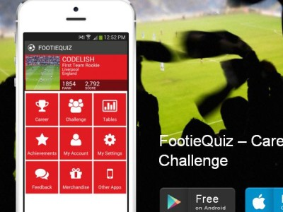 FootieQuiz for Android