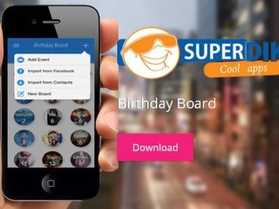 Birthday Board for iOS