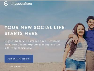 Citysocializer for Web