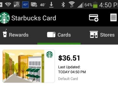 Starbucks for iOS