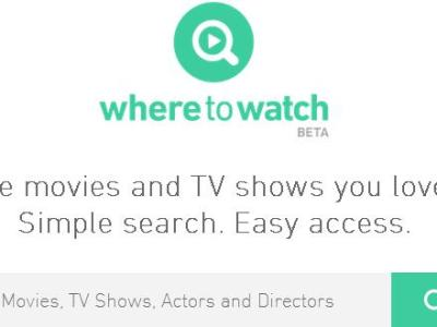 WhereToWatch for Web