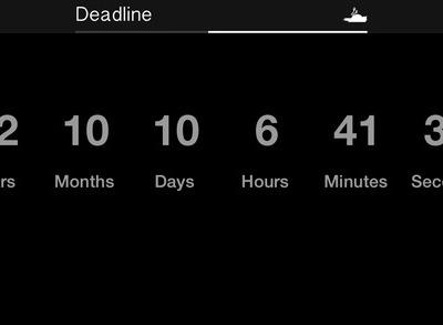 Deadline for iOS
