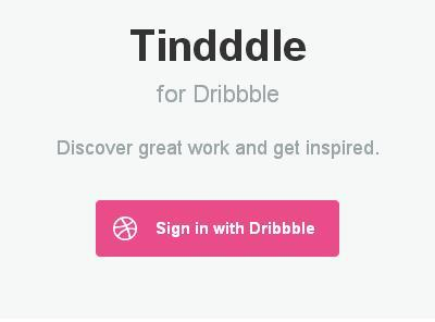 Tindddle for Web