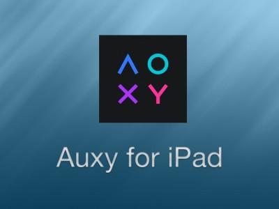 Auxy for iPad