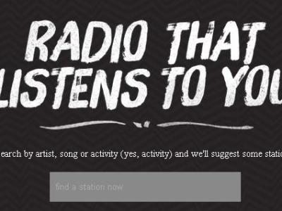 Slacker Radio for iOS