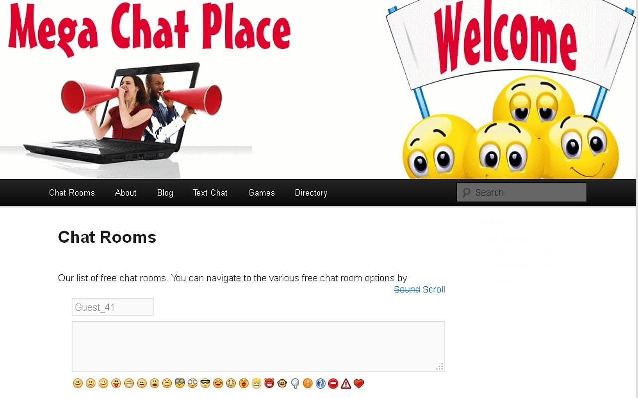 free chat room website