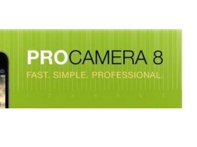 ProCamera 8 for iOS