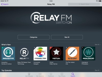 Relay FM for iOS
