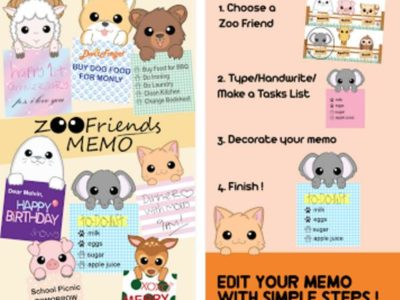 Zoo Friends Memo for Android