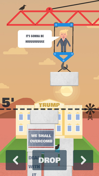 Trump's Wall for iPhone