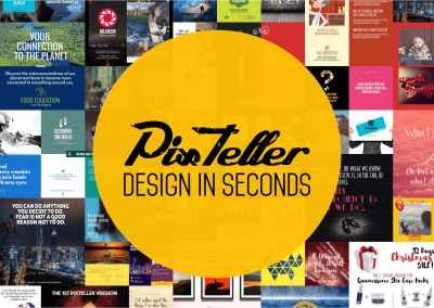 Pixteller – Design in Seconds