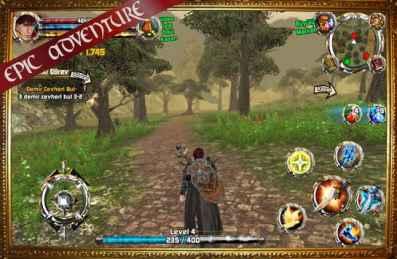 Crimson Warden True Fantasy RPG Game play