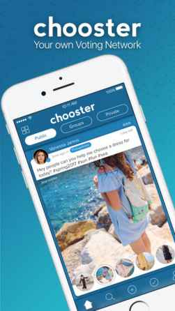 Chooster for iPhone