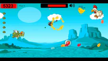 Chicken attack for Android