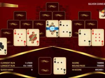 Towers TriPeaks Solitaire Challenge